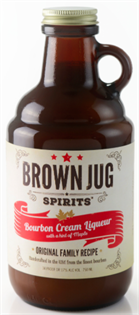 Brown Jug Spirits Bourbon Cream Liqueur 750ml